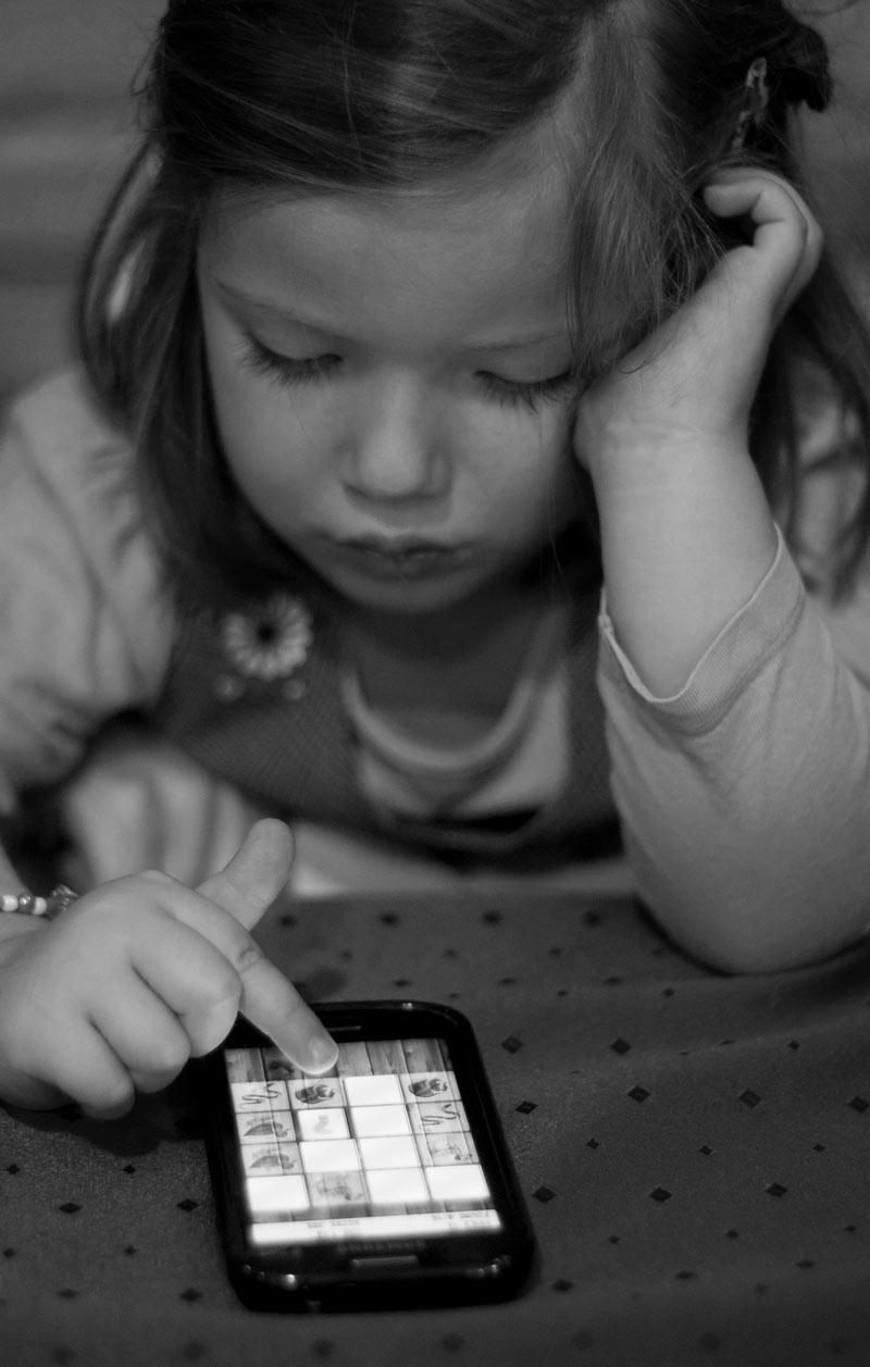 sobreestimulación de la infancia